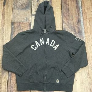 Hudson's Bay Canadian Olympic Team Hoodie Sz L